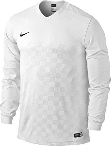 NIKE Jersey Energy III Sudadera, Hombre, Blanco/Negro (Football White/Black), M