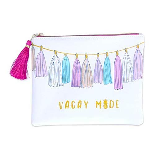 Simply bolsa de escova para transporte de borla do sul (tamanho único, férias)