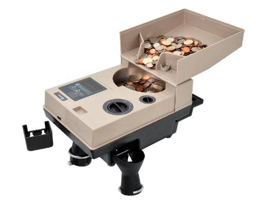 Cassida Compact & Portable Coin Counter/Off-Sorter (C500)