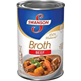 Swanson 100% Natural Beef Broth 14.5 Oz (Pack of 4)