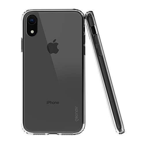 Capa protetora iPhone XR, TPU flexível nas extremidades, Transparente, CLIXR, Geonav