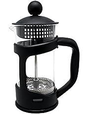 NERTHUS Franse koffiepers 350 ml, zwart, 18 x 11,5 x 8 cm
