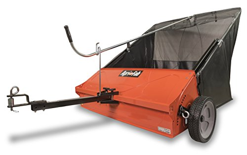 Agri-Fab AG45-0492 44-inch Towed Lawn and Leaf Sweeper ready to use