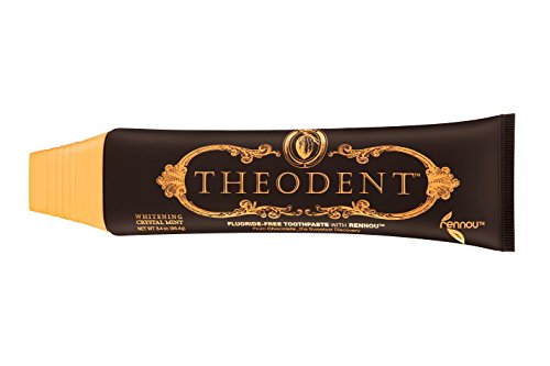 Theodent Classic Toothpaste: Whitening Crystal Mint, Fluoride Free Toothpaste, 3.4 oz.