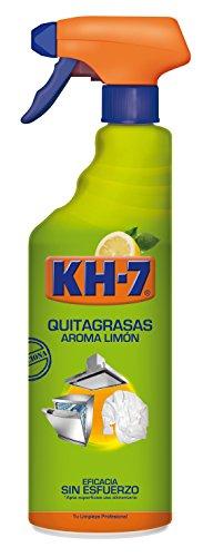 KH-7 - Quitagrasas pulverizador - Aroma limón - 750 ml, paaquete de 3