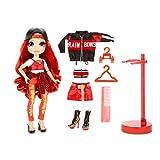 Rainbow High Muñecas de Moda Coleccionables - Ropa de Diseñador, Accesorios y Soporte - Ruby Anderso...