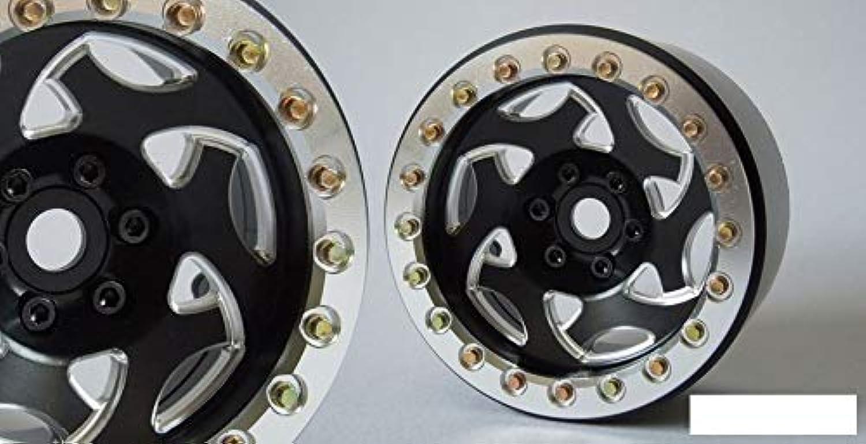 SSD 2.2  Champion Beadlock Wheels BLACK SILVER Ring SSD00234 RC SSDRC