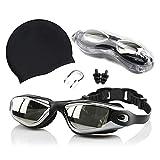FYting Gafas de Natación Antiniebla,Gafas de Natación Gafas para Nadar...