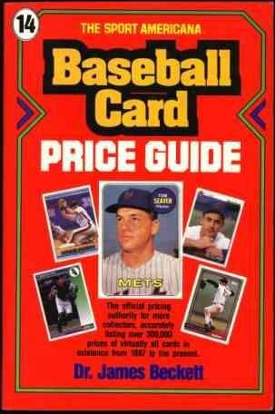 Compare Textbook Prices for Sport Americana Baseball Card Price Guide  ISBN 9780937424582 by Beckett, James