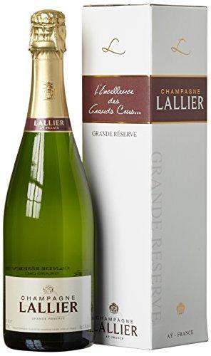 Champagne Lallier Grande Réserve Grand Cru mit Geschenkverpackung (1 x 0.75 l)