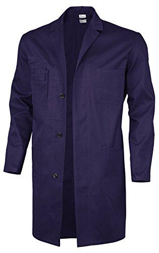 Qualitex Basic Arbeitskittel, 100 % Baumwolle, 240 g/m², Weiß, Größe 44, 61951df, Hydro Blau., 52