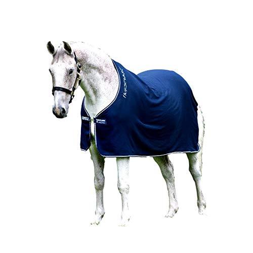 Horseware Amigo Bravo 12 Lite Disc 0g Regendecke Navy/Navy & White (145)