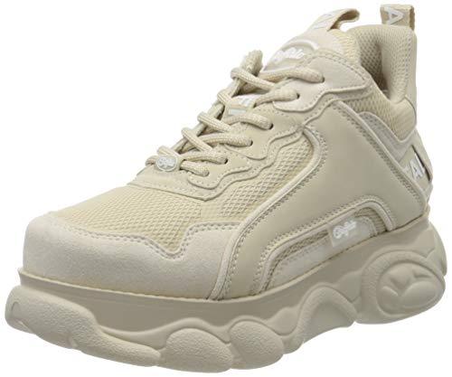 Buffalo Damen CHAI Hohe Sneaker, Beige 000, 40 EU