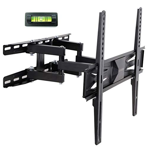 FLEXIMOUNTS A22 Full Motion Articulating TV Wall Mount Tilt Swivel Bracket Fit for 32-60 Inch 4k HD LED LCD Screens