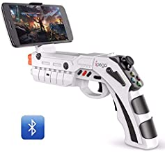 ZGYQGOO 2.4G Wireless Gamepad Game Cubes, Controller Wireless Joystick, Vibration Gamepad, Bluetooth Game Controller Wireless, USB Charging Gamepad Handset, Android6.0/Ios11.0/PC,White