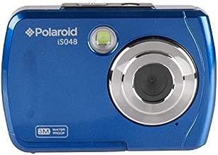 Polaroid IS048 Waterproof Instant Sharing 16 MP Digital Portable Handheld Action Camera, Blue