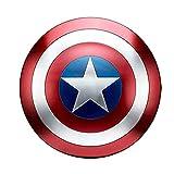 Avengers - Escudo de Capitán América Hierro Forjado CapitáN AméRica Shield Escudo Capitan America Metal para niños y fanáticos de Cospiay A,18.5inch