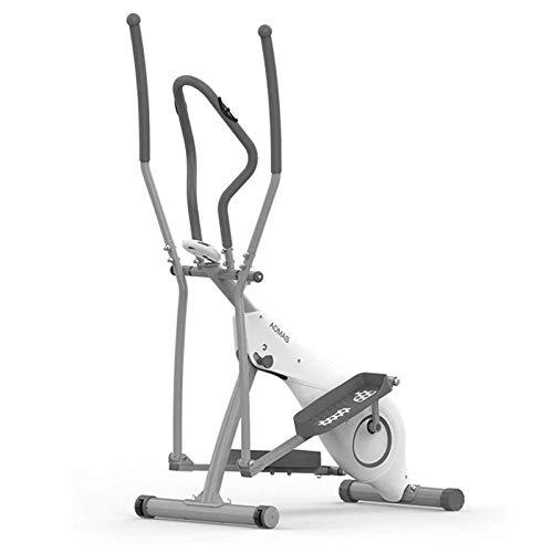 UIZSDIUZ Máquina elíptica de Piedra Máquina Elíptica, Aerobic Mini Stepper, Control Magnético Mute, Fitness - Máquina de Pedal