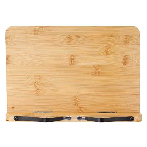 Suporte para tablet de mesa, suporte para travesseiro de tablet 5 ângulos diferentes Bambu para dormitórios Casas para crianças para salas de aula Bibliotecas Escritório