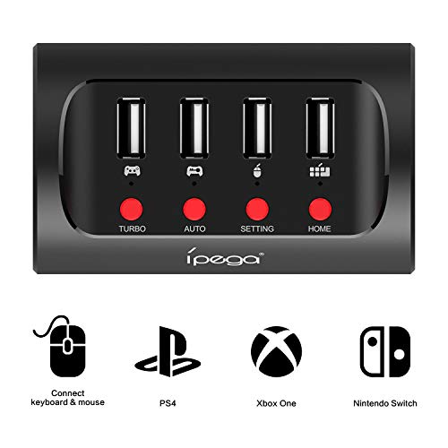 Keyboard and Mouse Adapter with Controller Converter For PS4/Nintendo Switch/Xbox one Games Console