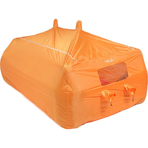 RAB Group 8-10 Abri Camping Mixte Adulte, Orange, One Size