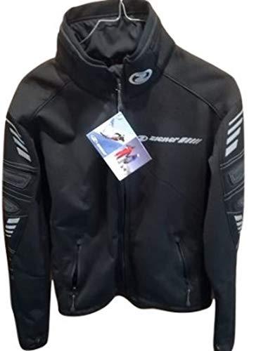 Ziener Veste pour homme Ski Race Softshell Black – Light Grey S