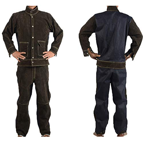 ATGTAOS beschermende pak Cowboy lassen werk kleding veiligheid kleding