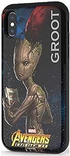 Avengers Infinity War Card Slide Case for LG G6 (Groot)