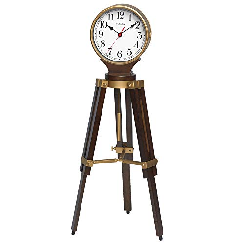 Bulova Rowayton Chiming Mantel Clock, Brown