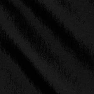 Ben Textiles Stretch Taffeta Black Fabric By The Yard
