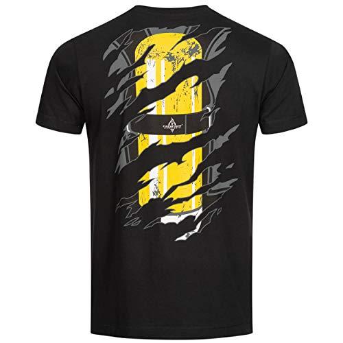 Einsatzkraft® Inside | Feuerwehr T-Shirt Männer Farbe schwarz, Größe:3XL