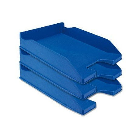 Q-Connect - Cajón archivador (6 unidades), color azul