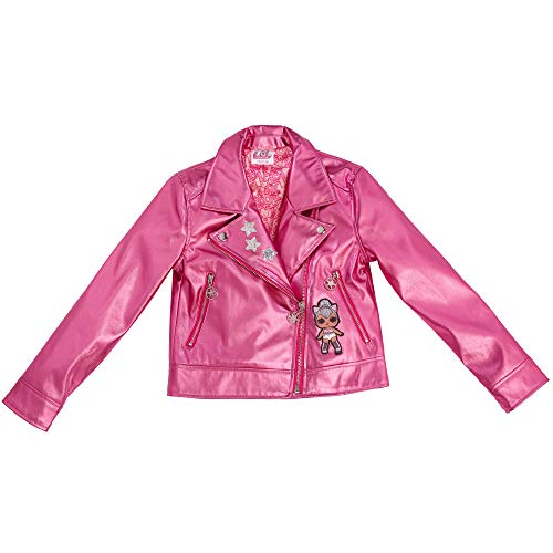 Tex-ass LOL Surprise! Mädchen Bikerjacke (158/164, Pink)
