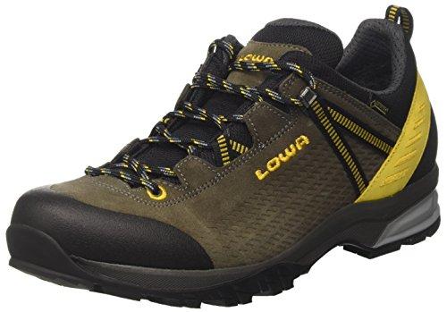 Lowa Arco GTX Lo, Zapatos de Senderismo para Hombre, Marrón (Oliv/senf), 42 EU
