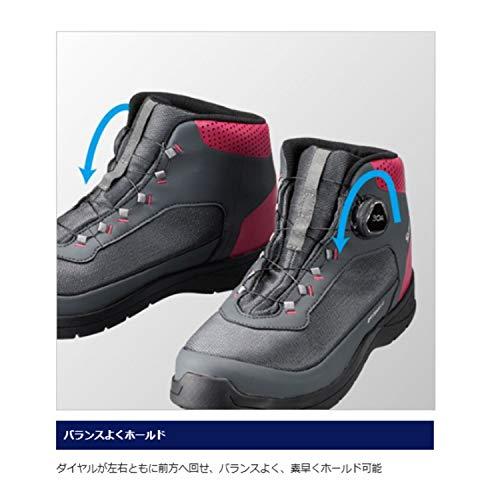 シマノ『ドライシールド・デッキラジアルフィットシューズHWFS-082R』