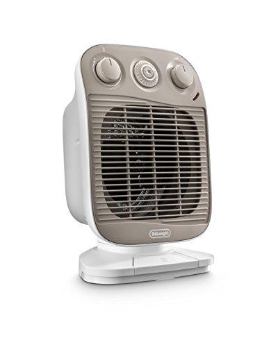 De\'Longhi HFS50F24 - Calefactor rápido (2400 W, para hasta 70 m³), color blanco