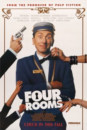 FOUR ROOMS – Imported Movie Wall Poster Print – 30CM X 43CM Brand New MADONNA ANTONIO BANDERAS