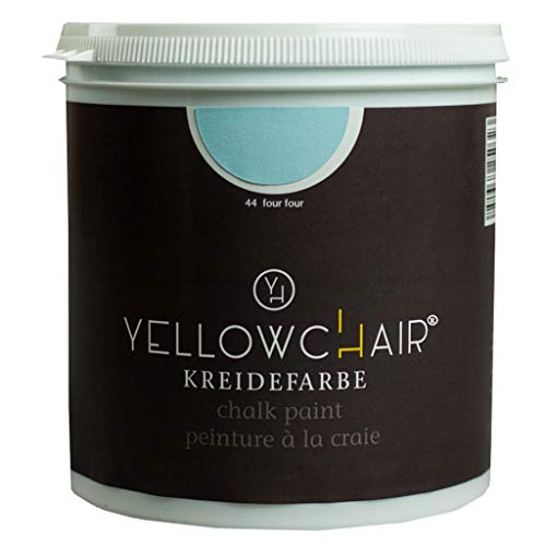 Kreidefarbe yellowchair No.44 pastellblau ÖKO für Wände und Möbel 1 Liter