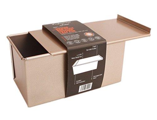 GMM Slide Non-Stick Toast Box mit Deckel Champagner Brot Backform