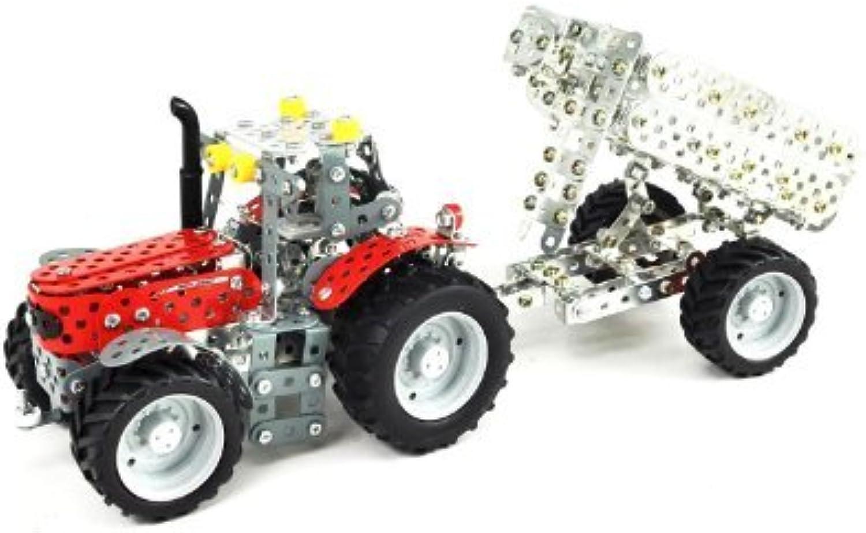 estilo clásico Massey Ferguson 5430 Tractor Tractor Tractor and Trailer Construction Kit by MASSEY FERGUSON Tronico  El ultimo 2018