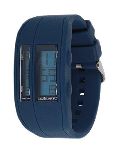 Pollmann Sommeruhr Dunkelblau 03 Bunte Silikon Chrono Plastik Unisex Damen Herren Uhr Armbanduhr