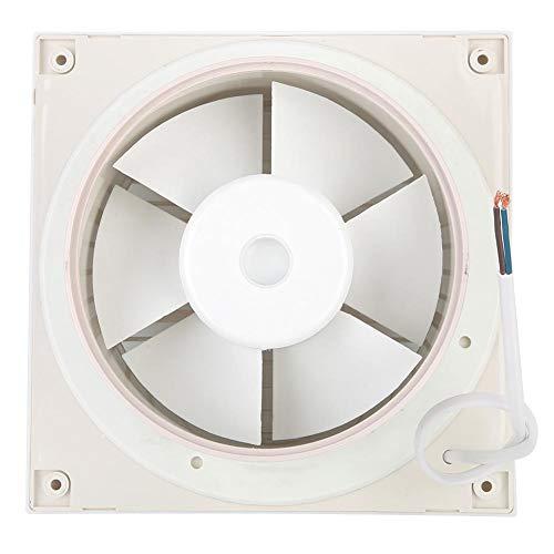 Jadpes Wandventilator, 220 V, 20 W, 6 inch, ventilator, uitlaatventilator voor huis, badkamer, keuken, ramen, ventilator