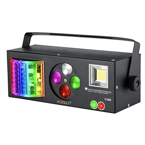 Aoellit 4-in-1 Disco Party Light with Strobe, Beam & More - $74.79 Shipped