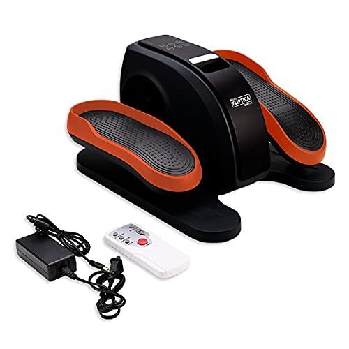 Bonplus BP   Mini Elíptica Eléctrica Bidireccional   Ejercitador de piernas   Mando a Distancia   Pantalla Velocidad y Calorías   3 programas automáticos   60W