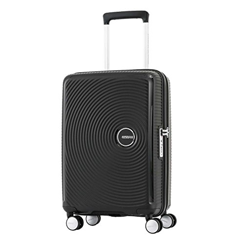 American Tourister Curio Hardside Luggage with Spinner Wheels, Black American Tourister Mesh Carry On