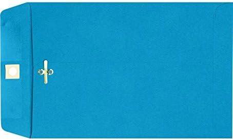9 x 12 Fees free Minneapolis Mall Clasp Envelopes Blue Qty. - Pool 200