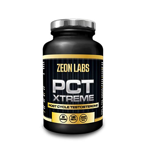 PCT Xtreme - 120 Capsules |Post Cycle Support Supplement which contributes to Normal Testosterone Levels | Exclusively Made in The UK