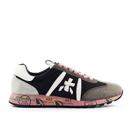 PREMIATA Sneaker Lucyd 4913 FW 2020, Grau - Grigio Rosa - Größe: 37 EU