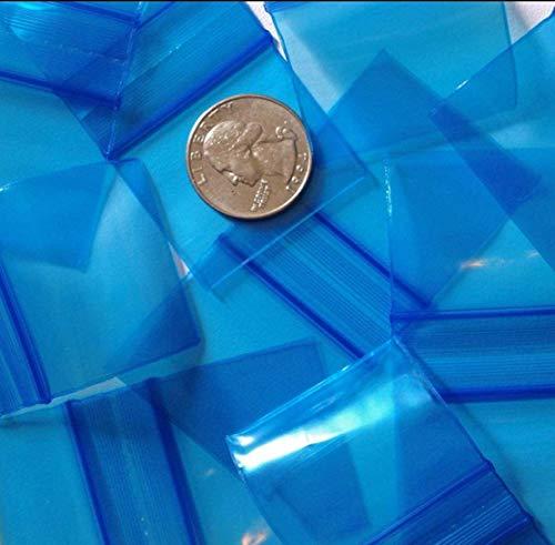 1000-2 x 2 Black 2 mil Plastic Ziplock Baggies