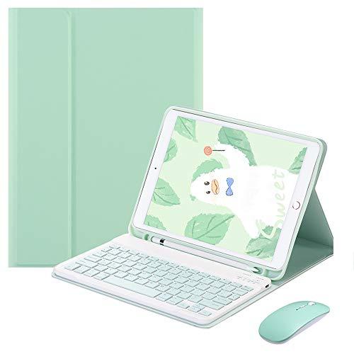 SsHhUu Tastatur Hülle mit Maus für iPad 10.2